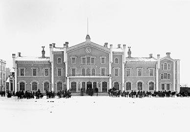 Helsingfors Old Railway Station - Helsinki Central railway station - Wikipedia, the free encyclopedia