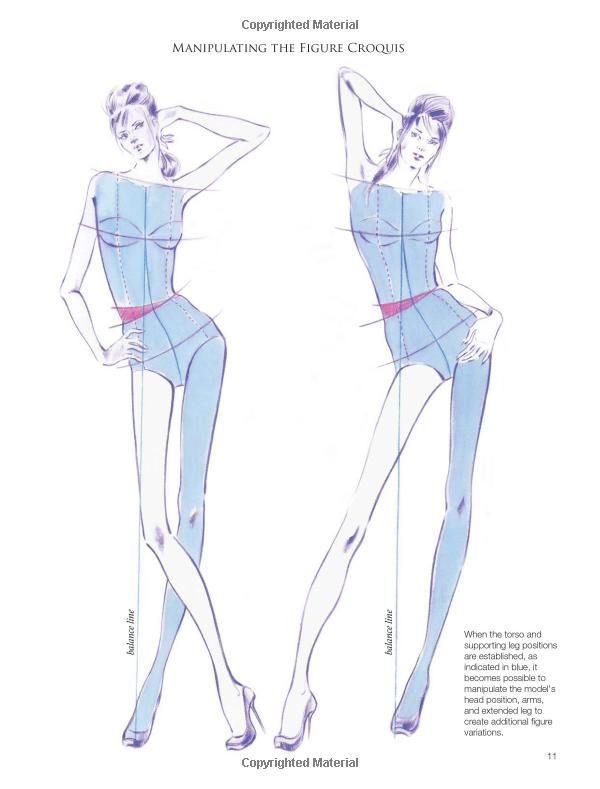 Fashion illustration inspiration and technique download