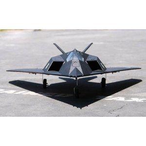 F-117 BLACKNIGHT STEALTH 70MM EDF RC JET RC PLANE: