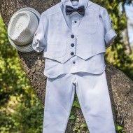 Βαπτιστικά ρούχα και είδη βάπτισης για αγόρια από την εταιρία Letante (www.letante.com) - Ερμού 36.
