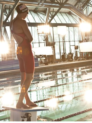 Get To Know Olympic Athlete, Rebecca Soni!