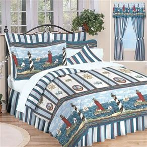 Lighthouse bedding....gotta get this for the camper!!