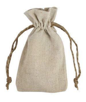 Linen Bags, Twelve 3X5 Natural Linen Gift Bags, Special Occasion Bags