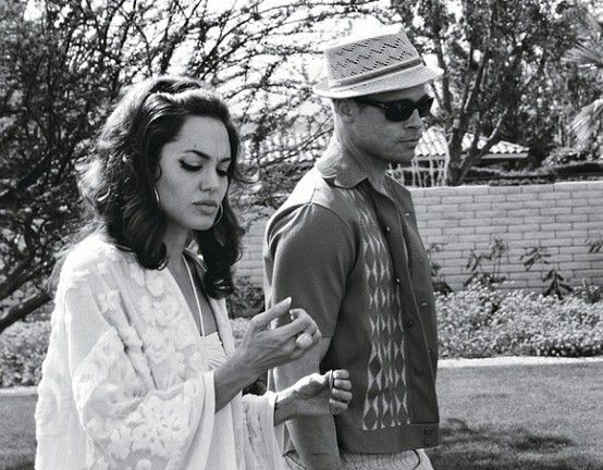 Angelina Jolie and Brad Pitt; excellant actors.
