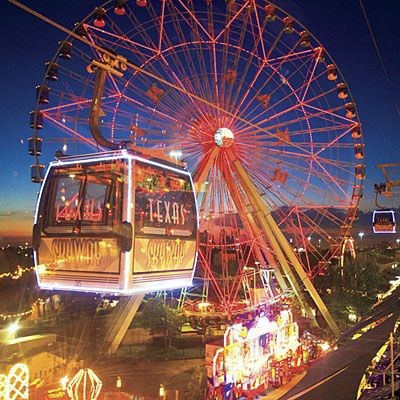 State Fair of Texas. Sept 25 - October 18. Enjoy ridiculous fried foods (chocolate, beer, oreos) and old-fashioned fair fun. #Dallas