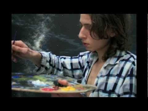 AMAZING video of art in progress.
