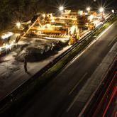 Night works in highway D1