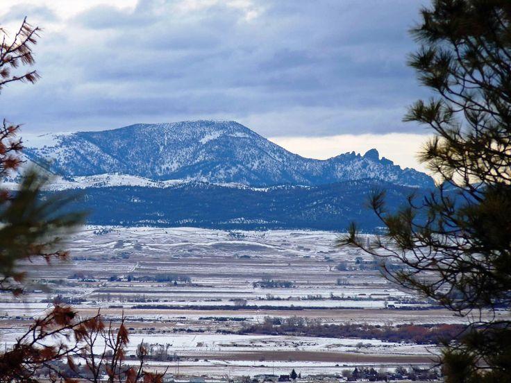The Sleeping Giant mountain near Helena, Montana