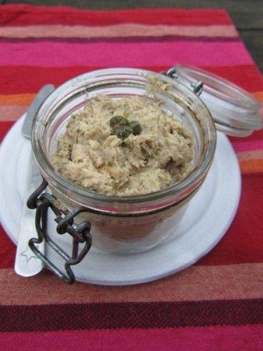 Rillettes de thon ou comment donner aux enfant du foie de morue - Atelier Cuisine Bio
