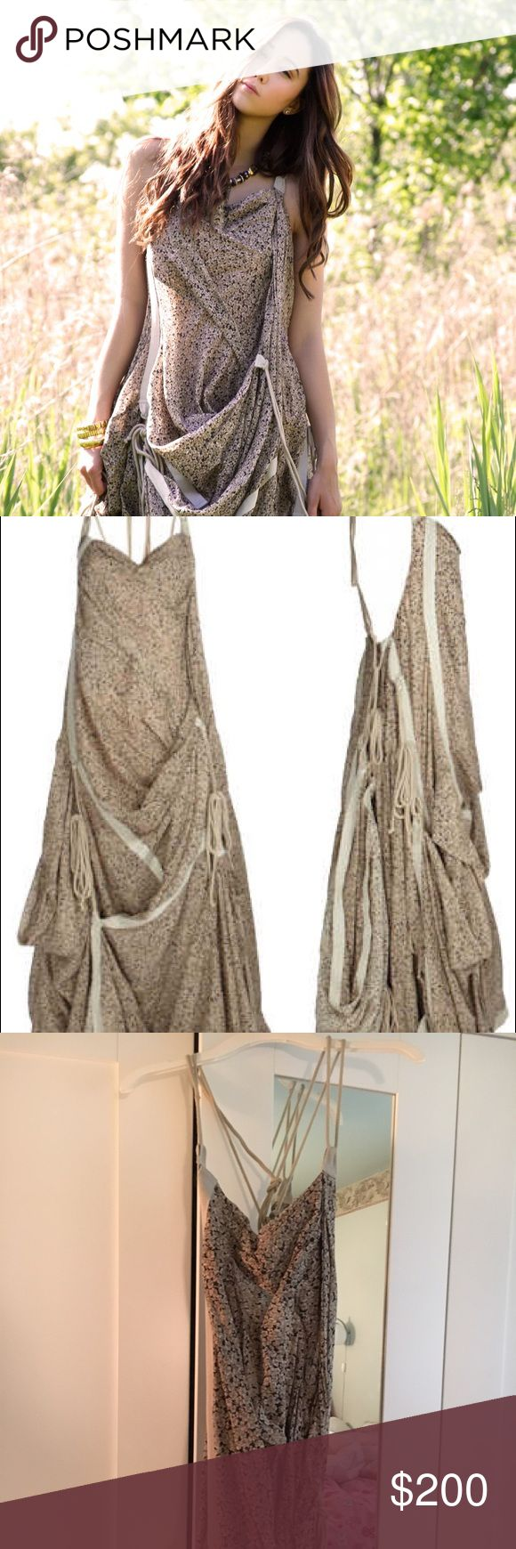 Beautiful All Saints Parachute Maxi Dress Beautiful AllSaints dress! Only worn once to prom! One size fits all! Comes with an Allsaints bag to keep the dress all together! All Saints Dresses Maxi