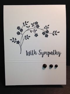 Thoughts & Prayers, Better Together, Sympathy Card, Stampin' Up!, Rubber Stamping, Handmade Cards