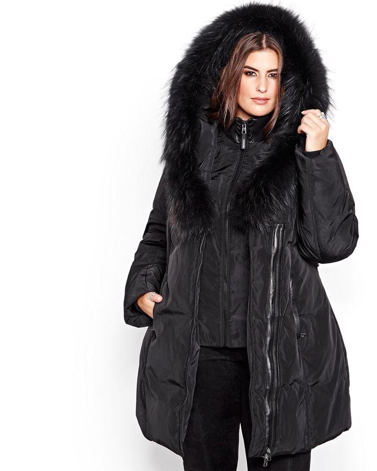 Plus size winter jackets coats