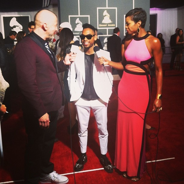 Miguel #GRAMMYs: Voice Crushes, Shay Mitchell, Miguel Grammi, Red Carpets