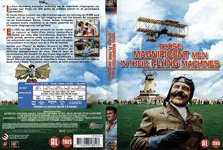 JAQUETTE DVD: jaquette dvd Ces merveilleux fous volants dans leu...