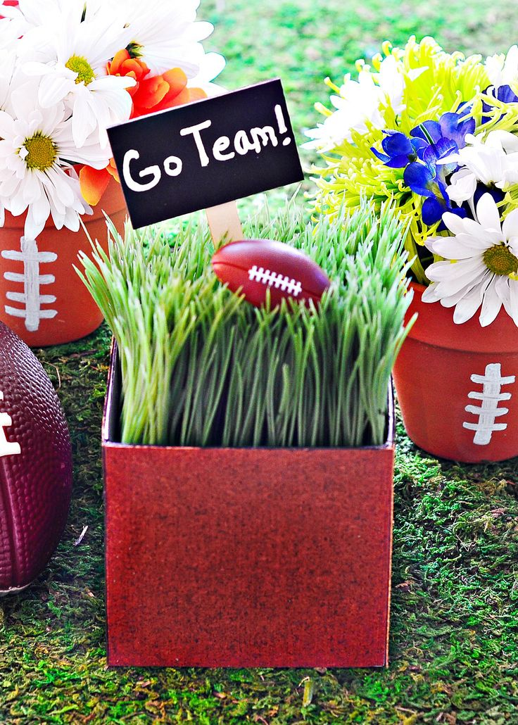 Images about football decorations on pinterest