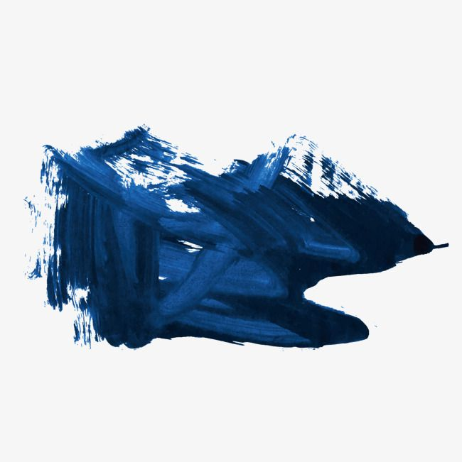 Blue Ink Brush Stroke Blue Vector Brush Vector Blue Png And Vector With Transparent Background For Free Download Ink Brush Blue Ink Brush Strokes