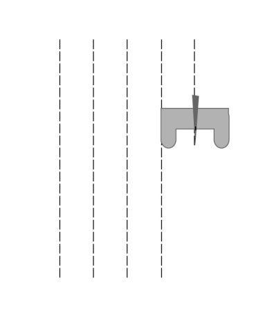 Apprendre à coudre droit, vous y trouverez quelques exercices pour vous entraîner à la machine, coudre en rond, en labirynthe