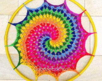 PATRÓN estrellas del hula por ColoridoEcletico en Etsy