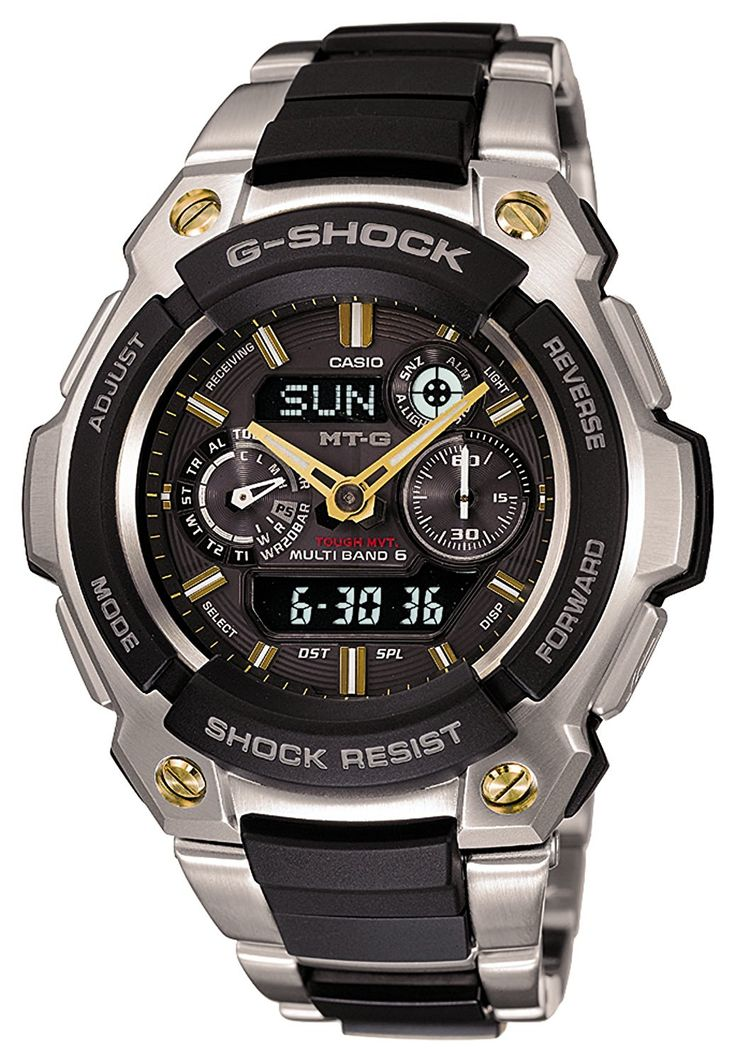 CASIO g-shock MT-G tough solar radio MULTIBAND 6 MTG-1500-9AJF mens watch -- Learn more by visiting the image link.