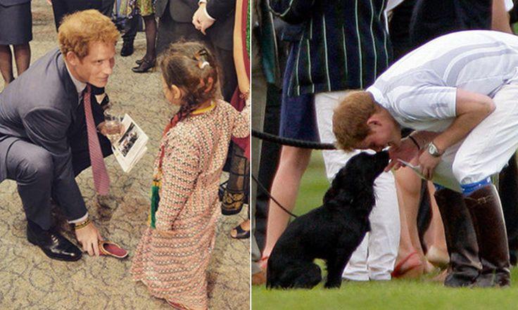 Prince Harry representing