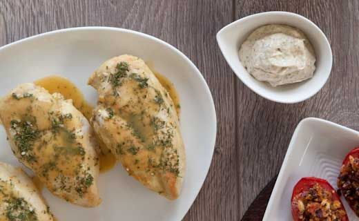 Lemon Dilly Chicken- Our Lemon Dilly is a great way to add a ton of flavour without the salt!
