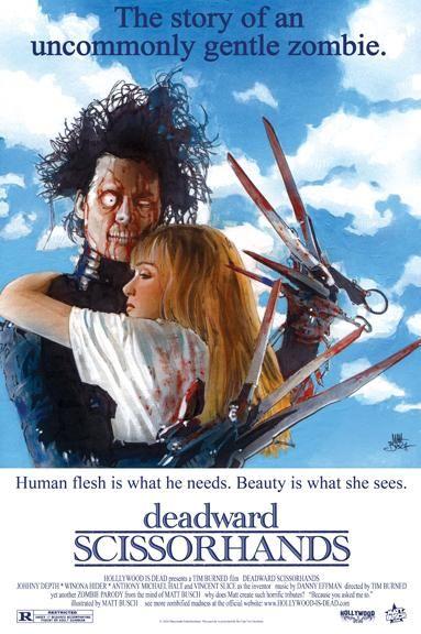 Zombified Posters | Deadward Scissorhands