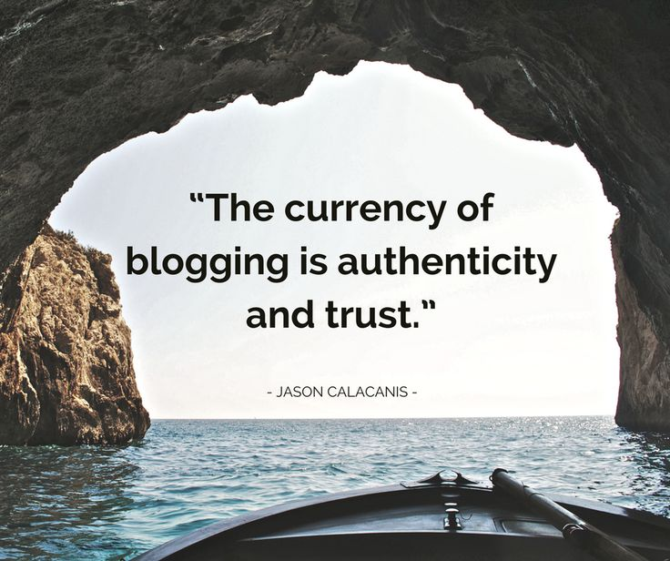 Blogger Jason Calacanis has the real exchange: you write authentic, valuable blog posts and you're readers give you back trust. Once you have an audience that trusts you, all sorts of things are possible (including making money). #bloggers #blogging #blogthemes #wordpressthemes
