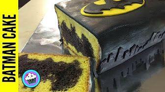 Lego Batman Cake - YouTube