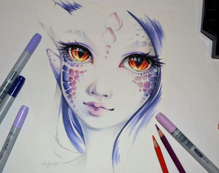 """Dragonborn Beth"" By: lighane.deviantart.... this is beautiful"