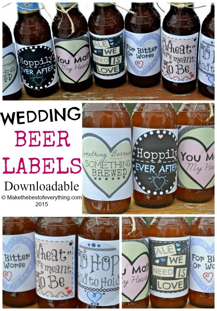 25 best ideas about craft beer wedding on pinterest