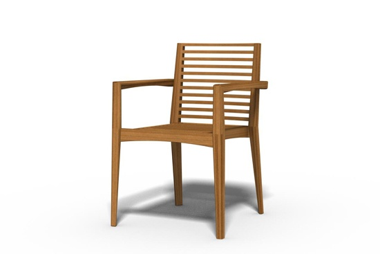 Part of the Alice collection for Tribù. It's made completely from teak wood.