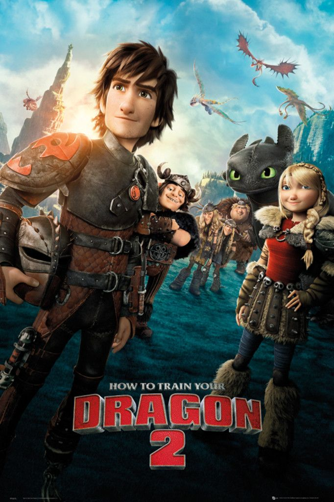 How to Train Your Dragon 2 One Sheet - Official Poster
