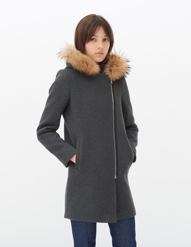 manteau femme flanelle et cuire - Recherche Google