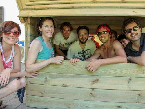 team building solidale obiettivo sorriso