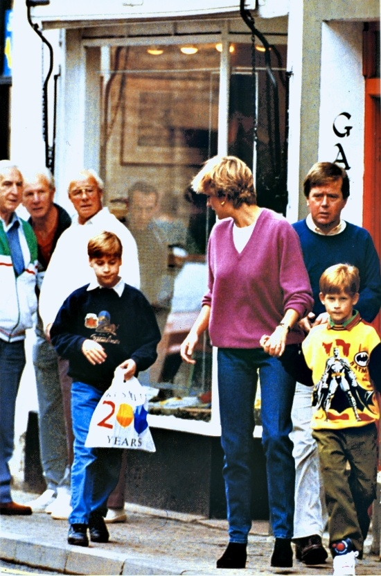 "DECEMBER 21, 1985 ~ Letter written to Margaret Hodge ""I TOOK William to see Father Christmas in a shop last week & he was quite undaunted by the prospect, instead he produced a list as long as your arm of presents he wanted for the 24th & nothing was left out! I do not know how parents cope with more than two children as the parents of these boys are exhausted before the event (24th/25th) trying to keep up with their pace!"""