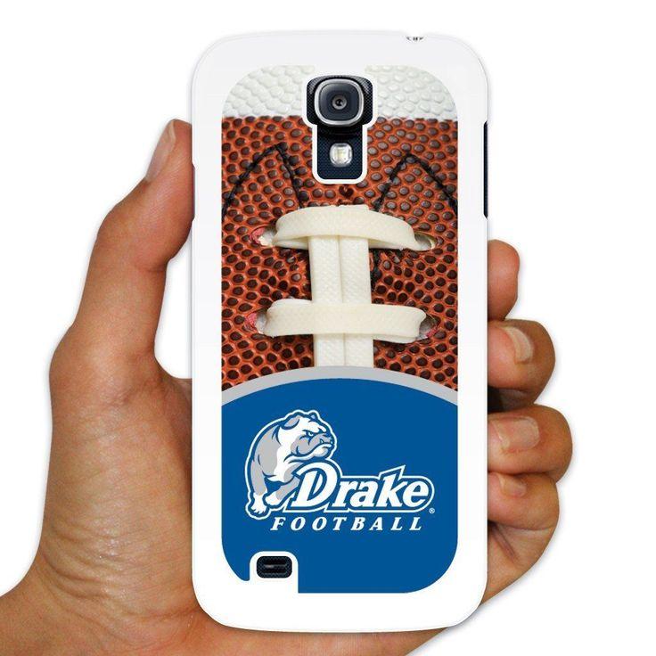 "Drake Samsung Galaxy S4 Case "" Football Background "" White Plastic"