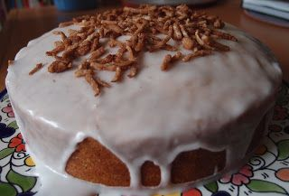 The Caked Crusader: Macmillan Cancer Support Coconut Cake