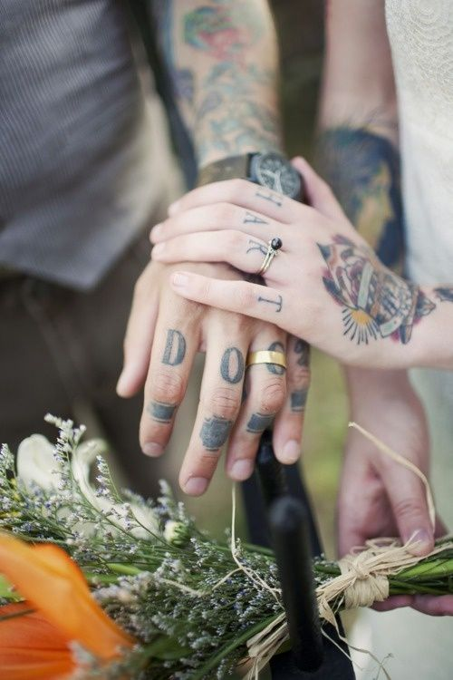 tattooed hands, one of my favorite things
