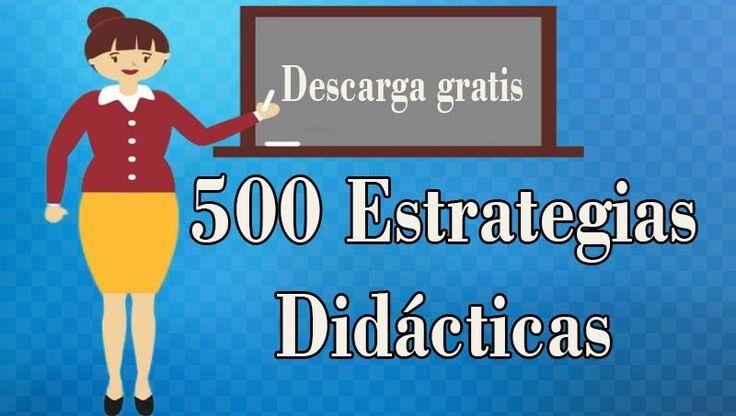 500 Estrategias Didácticas pdf - Portal de Educación