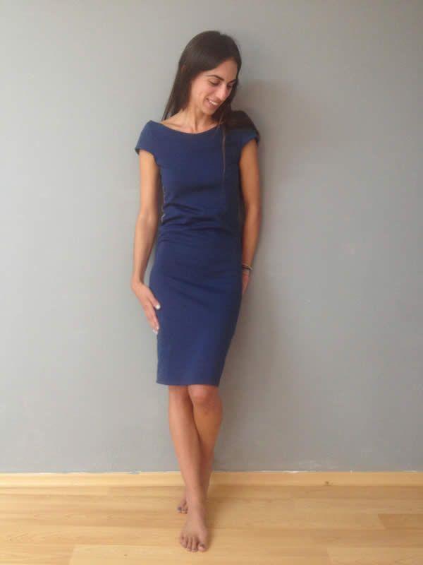 Louisa Dress Blue