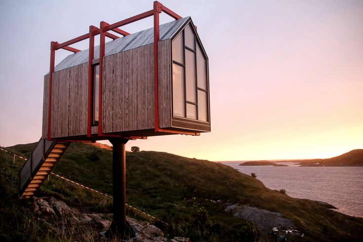 Fordypningsrommet – A Private Retreat Set In The Arctic Archipelago