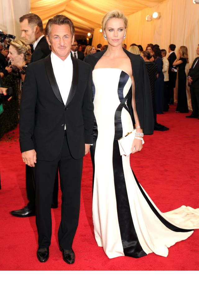 The 20 Most Stylish Couples at the 2014 Met Gala: Sean Penn and Charlize Theron