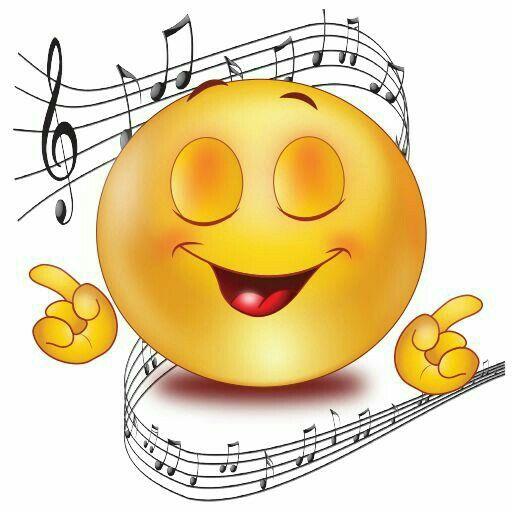 Смайлики музыкальные картинки