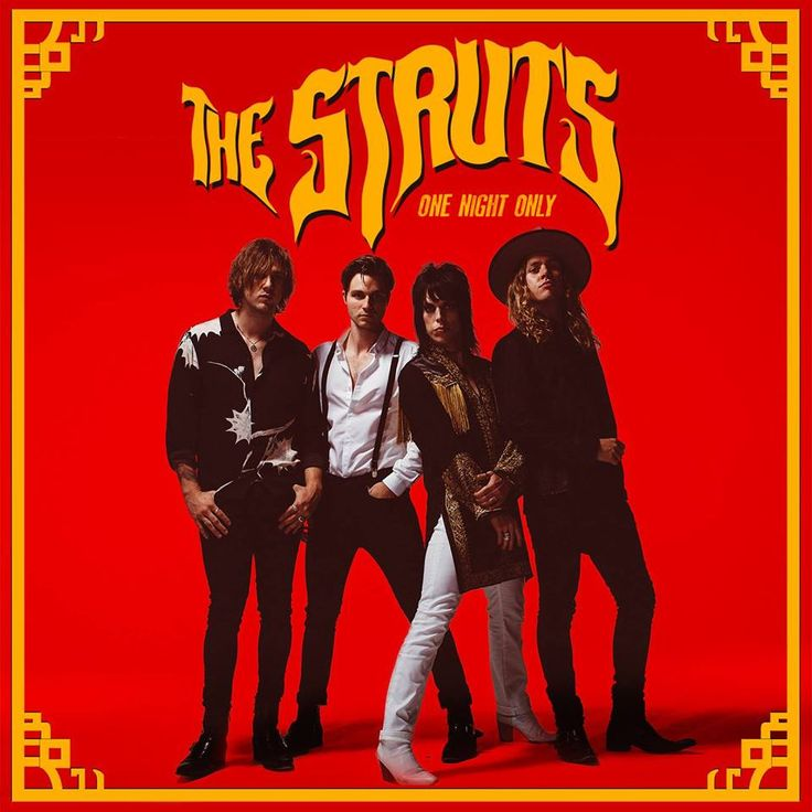One Night Only by The Struts is a beautiful song and it captures some of the fun and bombast which was prominent in '80's rock!!!