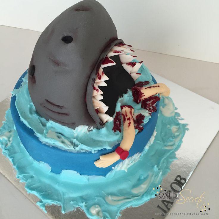 Shark Attack, Jaws. Sweet Secrets, Novelty Cakes Dubai…