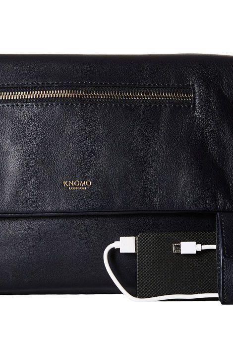 KNOMO London Elektronista Digital Clutch Bag (Navy) Clutch Handbags - KNOMO London, Elektronista Digital Clutch Bag, 20-046-NAV, Bags and Luggage Handbag Clutch, Clutch, Handbag, Bags and Luggage, Gift - Outfit Ideas And Street Style 2017