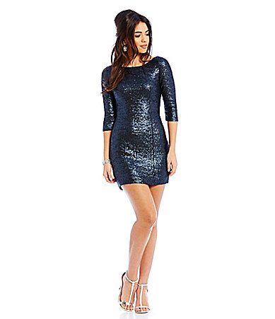 1000  ideas about Metallic Sequin Dresses on Pinterest  Glitter ...