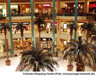 Lissabon Shopping Center Einkaufszentrum Colombo