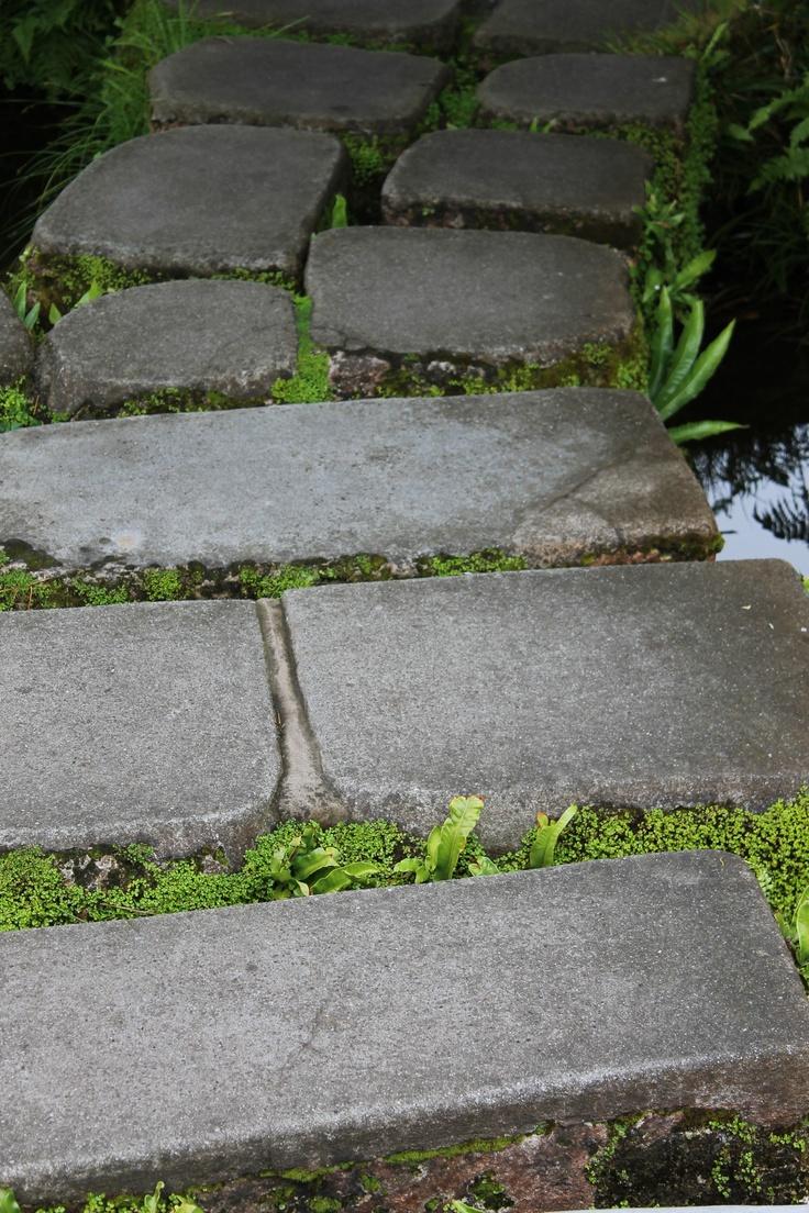 Stepping Stones Zen Garden
