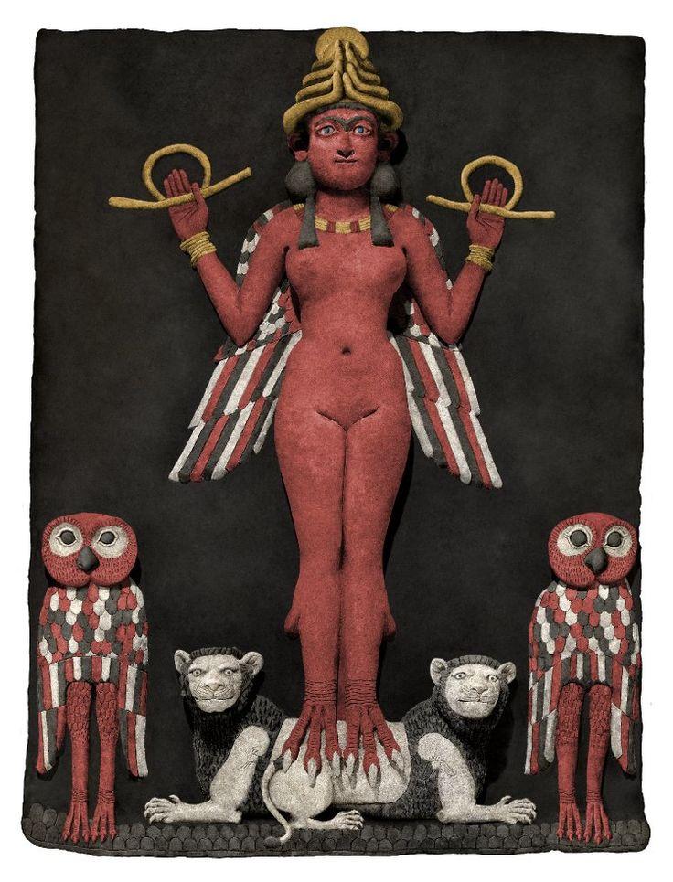 богиня иштар и пес